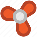 air fan, charging fan, electric fan, electricity, fan, ventilator fan icon
