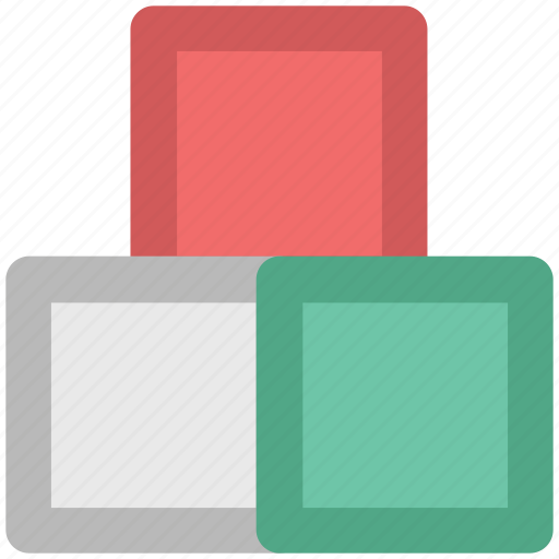 blocks, bricks, cubes, square tile, tiles, tiles bricks icon