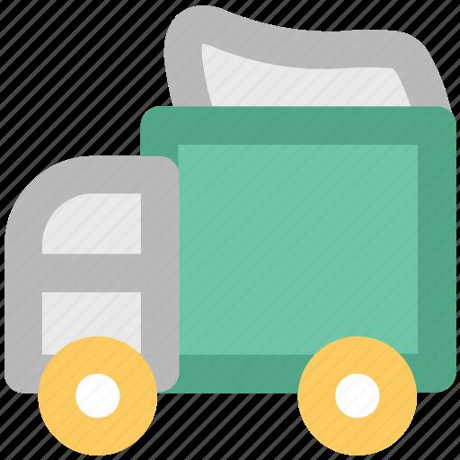 automobile, delivery van, sedan delivery, shipping truck, van, vehicle icon