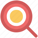glass, magnifier, magnifying glass, search, zoom icon
