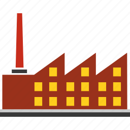 building, business, construction, factory, industry, town, urban icon