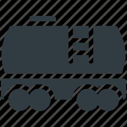 cargo train, freight train, railway transport, shipment, shipping icon