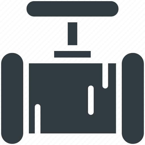 main pipeline, pipe valve, pipeline, water supply, water supply valve icon
