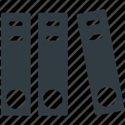 binders, file folders, files, folders, office documents icon