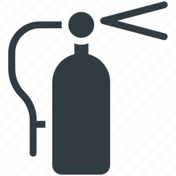 extinguisher fire, extinguisher security, fire extinguisher, safety icon