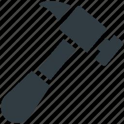 configuration, garage tool, hammer, mechanic, repair tool icon