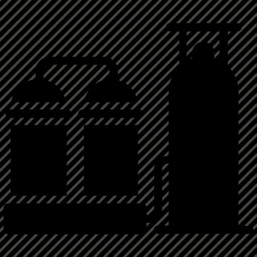 oil pumpjack, oil refinery, oil well pumpjack, oilfield, pumpjack icon