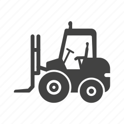 forklift, loader, manufacturing, storage, storehouse, truck, warehouse icon