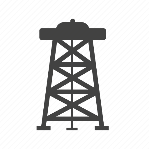 derrick, energy, fuel, industrial, industry, oil, rig icon