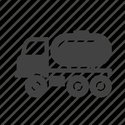 cargo, fuel, gas, oil, tank, tanker, truck icon