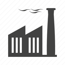 building, concrete, factory, industrial, plant, structure, work icon