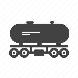 freight, fuel, oil, railroad, tank, transport, wagon icon