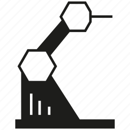 auto, industry, machine, manufacturing, robot, robotics icon