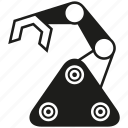 auto, machine, manufacturing, rescue robot, robot, robotics icon