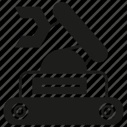 auto, machine, manufacturing, rescue robot, robot, robotics icon