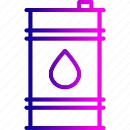 can, container, cylinder, delivery, industry, oil icon