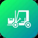 boxes, delivery, forklift, goods, parcel, shipping, transport