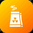 economy, factory, industry, production, radiactor, radiation, radioactive