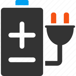 battery, charge, electric accumulator, electrical, electricity, energy, power supply icon