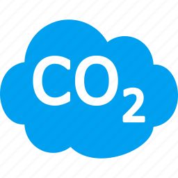 carbon cloud, co2 emission, dioxide, ecology waste, environmental, gas, industrial pollution icon