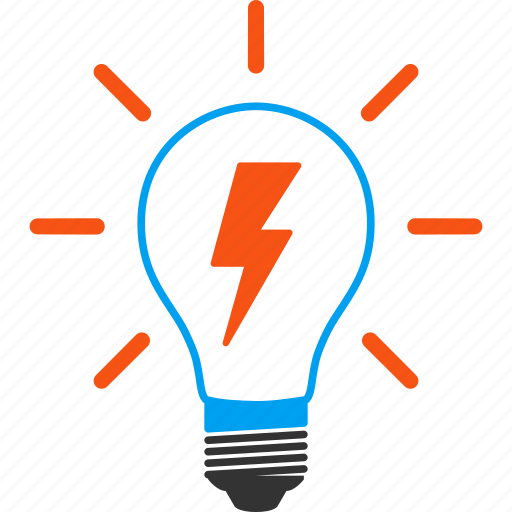 bulb, electric light, electrical lamp, electricity, energy, illumination, lightbulb icon