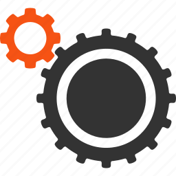 configuration, gear, gears, machine, mechanics, preferences, settings icon