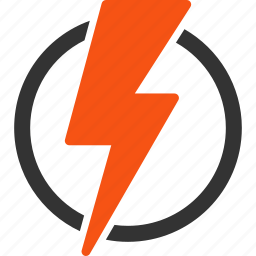 charge, danger, electric power, electrical, electricity, energy, warning icon