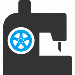 industry, job, machine, sew, sewing, vacancy, work icon