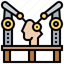 arm, assembly, automate, mechanic, robotic icon