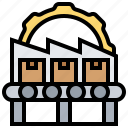 automatic, facility, industry, machine, process icon