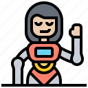 artificial, assistant, automate, intelligence, robot icon