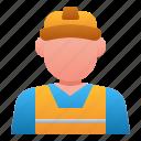 engineer, manufacture, man, industry, avatar, worker, people