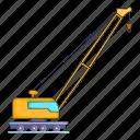 high crane, illustration, machinery, manual, repairing, sign