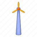 ecology, energy, illustration, power, turbine, wind, windmill icon