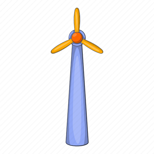 Ecology, energy, illustration, power, turbine, wind, windmill icon - Download on Iconfinder
