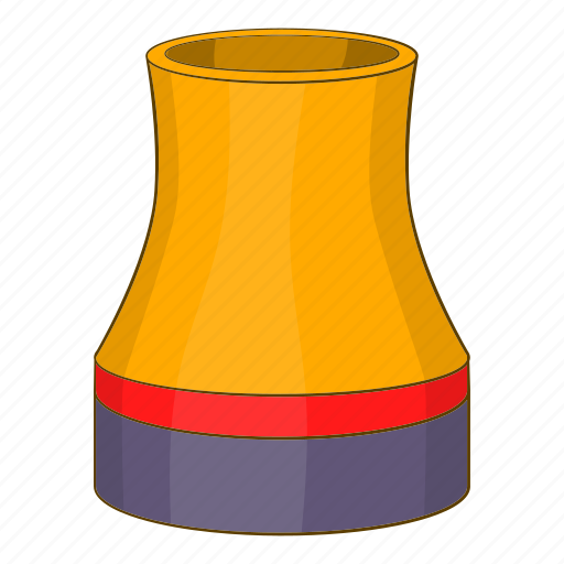 Cooling tower, engineer, illustration, machinery, sign, technology icon - Download on Iconfinder