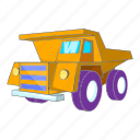 business, element, illustration, machinery, manual, sign, truck icon