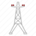 electric pole, electricity, illustration, line, pole, power, tower icon
