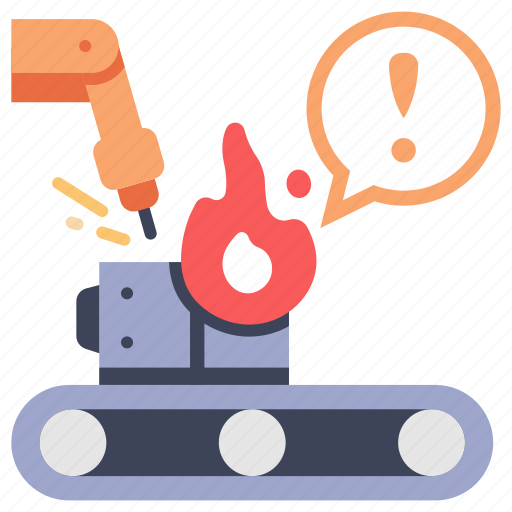 accident, emergency, fire, industrial, industry, mechanical, welding icon