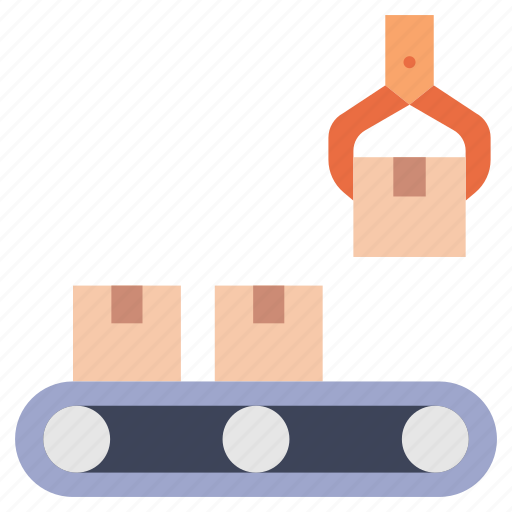 Automation, factory, industrial, machine, manufacturing, production, robot icon - Download on Iconfinder