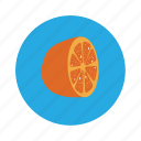 fruit, juice, lemon, orange icon