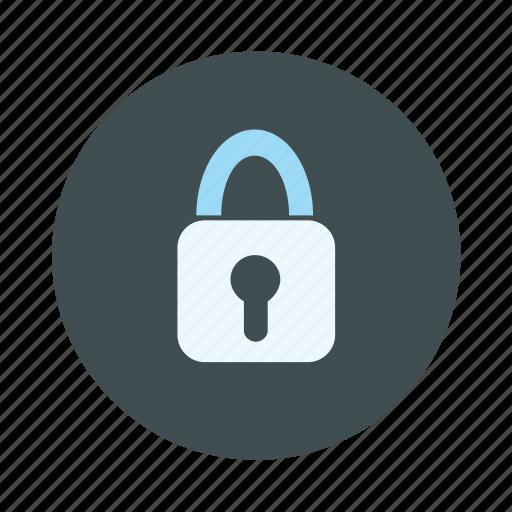encryption, lock, locked, padlock icon