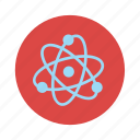 atoms, chemistry, experiment, lab, laboratory, molecule icon