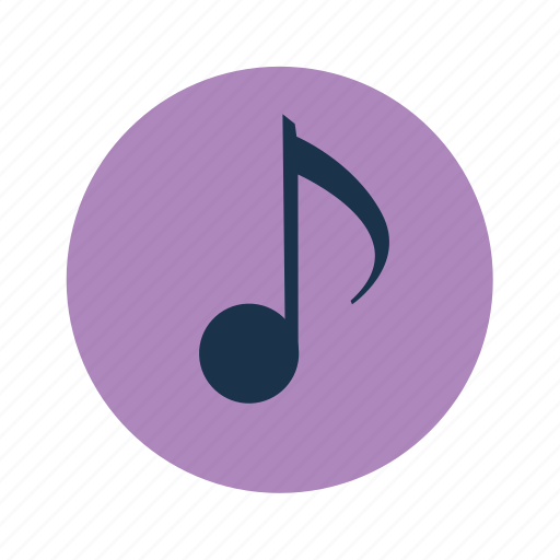 music, musical note, song icon