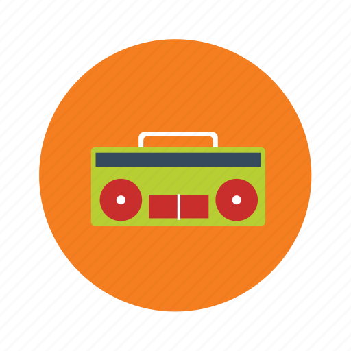 cassette player, music, music system, player, radio, song icon