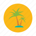 beach, coconut, island, palm, sea islands, tree, tropical icon