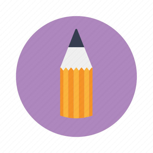 drawing, education, pencil icon