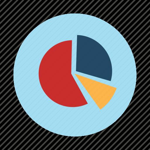 chart, diagram, parts, pie, pieces, slice, statistics icon
