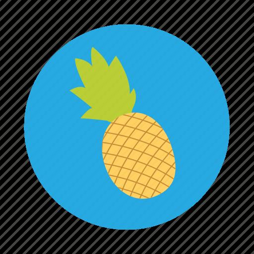 fruit, juice, pineapple, tropical icon