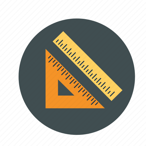 gemometry, geometric scales, measurement, scales icon